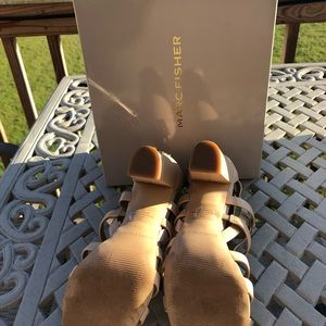 Marc Fisher Neutral Sandals